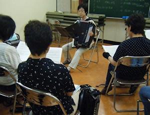 Nさんの歌伴奏