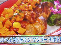 日向鶏のベイクドチキンマンゴーチポトレソース