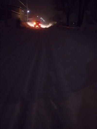 雪ふたたび