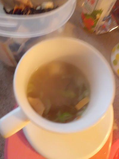 インスタント味噌汁の具