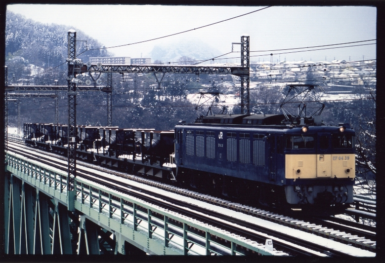 EF64 39 初狩工 雪