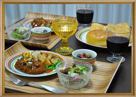 北欧食器 料理