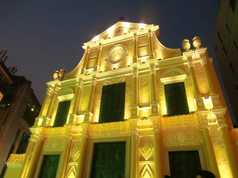 夜景 教会