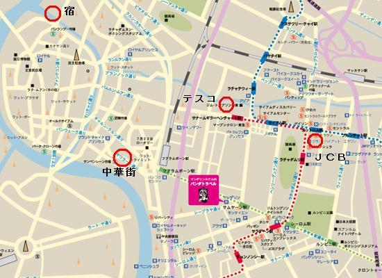 中華街 地図