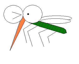 蚊 絵文字