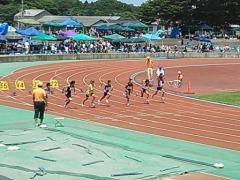 20130630 100m スタート