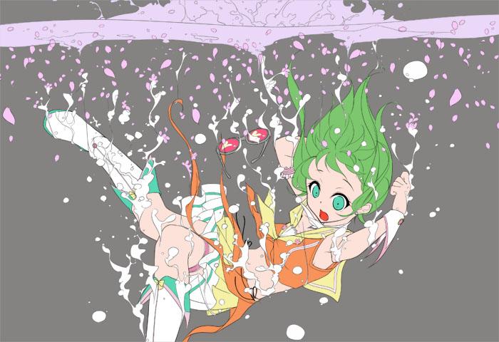 桜GUMI(下地塗り)