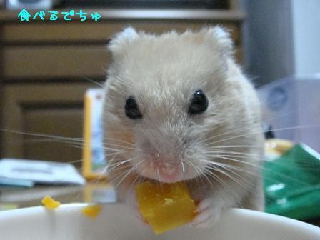 食べるでちゅ