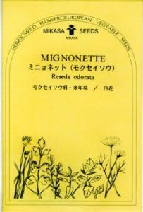ミニョネットの種