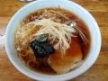 一麺のネギメンマラーメン140124