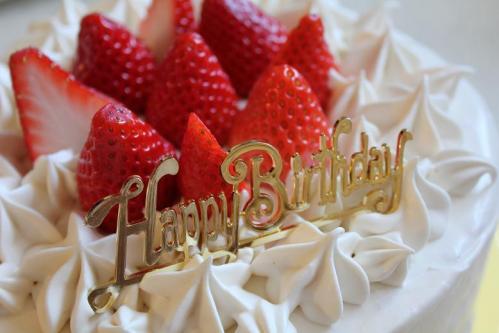 20120505父の誕生日ケーキ