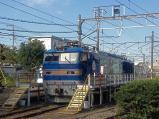 洗車中のEF510-507