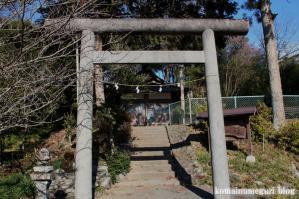 山田八幡神社(あきる野市山田)2