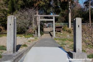山田八幡神社(あきる野市山田)1