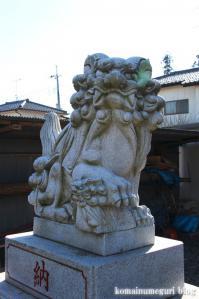 熊野神社(あきる野市引田)5