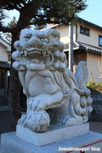 熊野神社(あきる野市引田)4