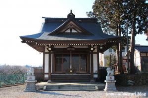 森山神社(あきる野市草花)2