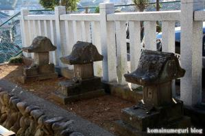 森山神社(あきる野市草花)10