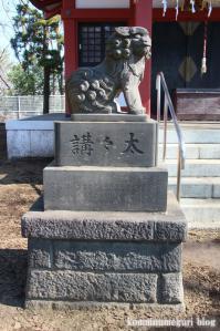 諏訪神社(さいたま市岩槻区諏訪)24