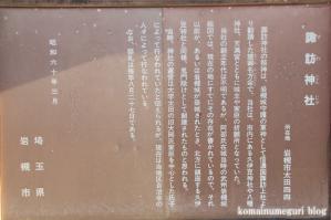 諏訪神社(さいたま市岩槻区太田)4