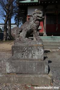 鷲宮神社(さいたま市岩槻区末田)13