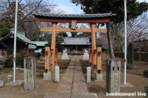 浮谷神社(さいたま市岩槻区浮谷)1
