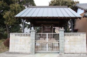 北辰神社(さいたま市岩槻区横根)3
