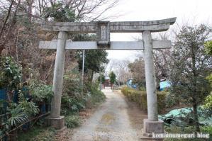 久伊豆神社(さいたま市岩槻区柏崎)1