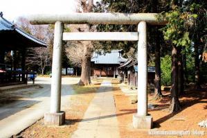 久伊豆神社(さいたま市岩槻区南下新井)4