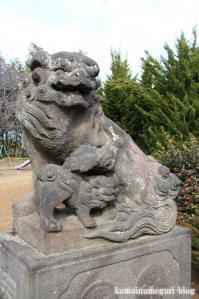 久伊豆神社(さいたま市岩槻区村国)14