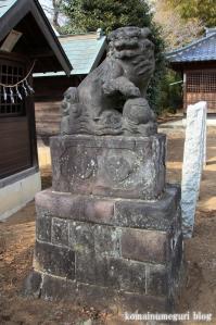 久伊豆神社(さいたま市岩槻区村国)17