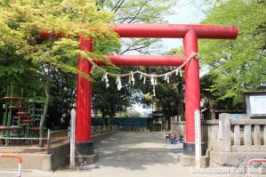 本太氷川神社(さいたま市浦和区本太)1