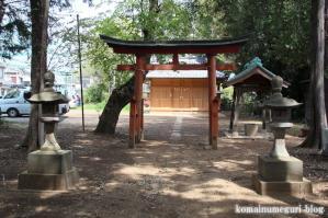 御室神社(さいたま市浦和区木崎)3
