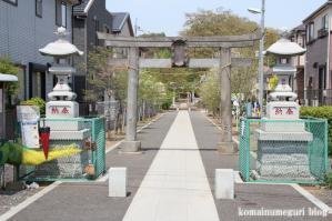 足立神社(さいたま市浦和区上木崎)1