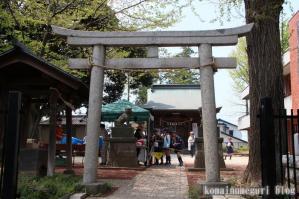 下落合氷川神社(さいたま市中央区下落合)1