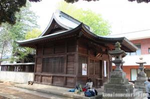 下落合氷川神社(さいたま市中央区下落合)16