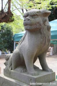 下落合氷川神社(さいたま市中央区下落合)10