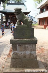 下落合氷川神社(さいたま市中央区下落合)4