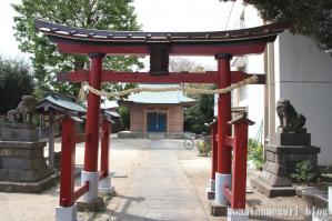 大戸氷川神社(さいたま市中央区大戸)2
