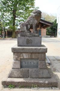 大戸氷川神社(さいたま市中央区大戸)24