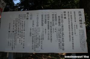 氏神八幡神社(練馬区高松)3