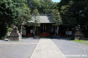 氏神八幡神社(練馬区高松)12