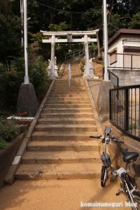 赤城神社(川崎市高津区上作延)1