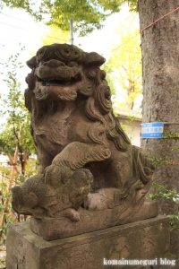 溝口神社(川崎市高津区下溝口)9