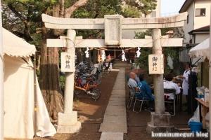 稲荷神社(川崎市多摩区宿河原)1