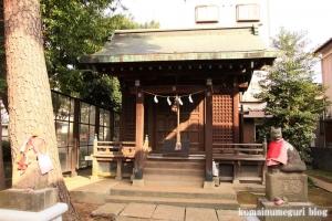 稲荷神社(川崎市多摩区宿河原)3