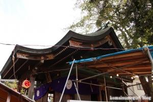 八幡神社(川崎市多摩区宿河原)7
