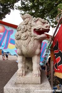八幡神社(川崎市多摩区宿河原)3