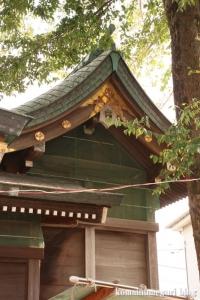 八幡神社(川崎市多摩区宿河原)6