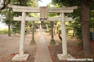 船島稲荷大明神(川崎市多摩区宿河原)4